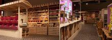 Der Ladenbauexperte Gerber hat das Ladenlokal designt und gebaut.