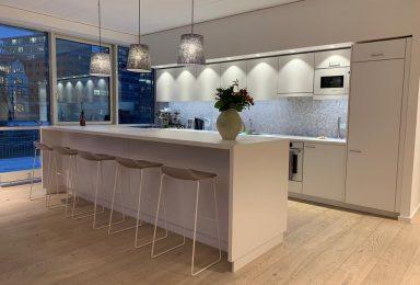 Teeküche für einen Showroom Düsseldorf - Tischlerei Gerber GmbH