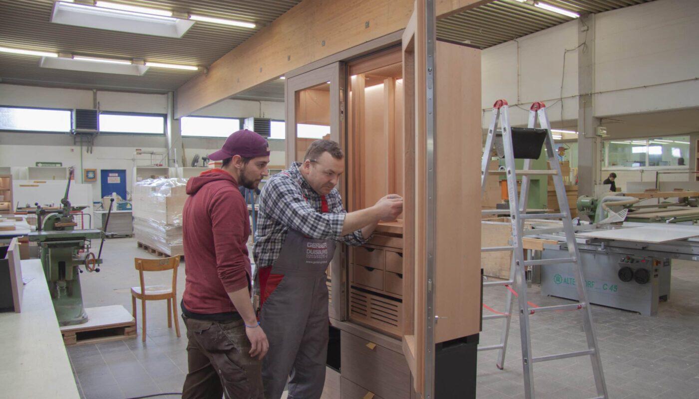 Ausbildung als Tischler bei der Tischlerei Gerber GmbH